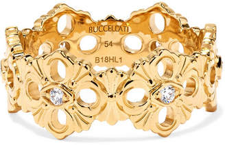 Buccellati Opera Eternelle 18-karat Gold Diamond Ring