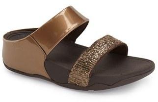FitFlop 'Lulu - Superglitz' Sandal (Women) $89.95 thestylecure.com