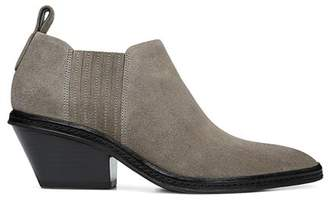 Via Spiga Women's Farly Pointed Toe Mid-Heel Ankle Booties