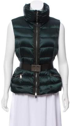 Moncler Tareg Belted Vest w/ Tags