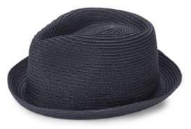 Braided Rocky Straw Fedora