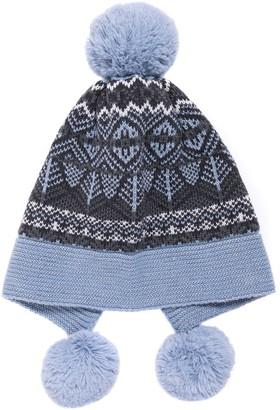 Muk Luks Women's Pom-Pom Hat