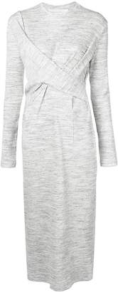 Victoria Beckham Victoria twist detail dress