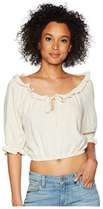 Rachel Pally Women's Linen Polly Top