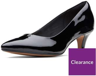 c3c77d005294 at Littlewoods · Clarks Wide Fit Linvale Jerica Court Shoe - Black Patent