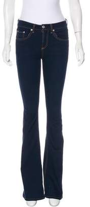 Rag & Bone Beckett 10 Inch Bell Mid-Rise Jeans