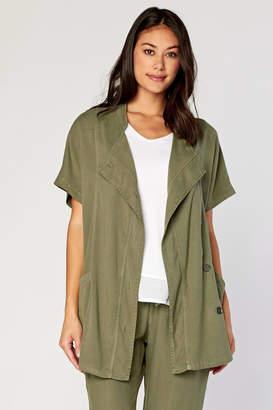 XCVI Twill Vest Coat