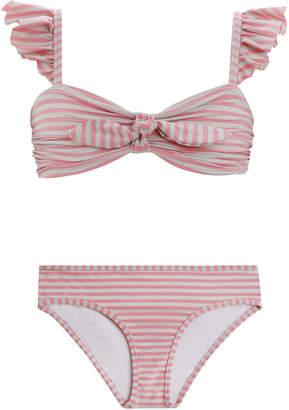 Zimmermann Bayou Frill Bandeau Bikini