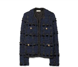 Ribbon Tweed Cardigan