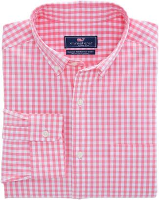 Vineyard Vines Carleton Gingham Classic Stretch Murray Shirt