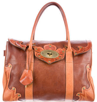 Mulberry Bayswater Leather Tote $395 thestylecure.com