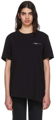 Off-White Black Script Spliced T-Shirt