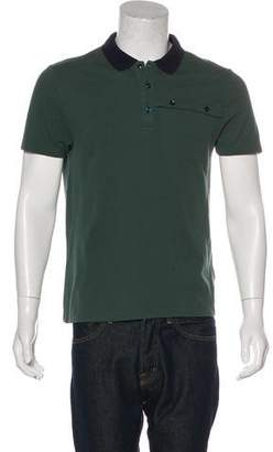 Versace Short Sleeve Polo Shirt