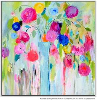 United Artworks Dreaming Of Spring Canvas Painting With Floating Frame