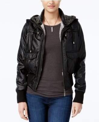 Joujou Jou Jou Juniors' Faux-Fur Hooded Jacket, Created for Macy's