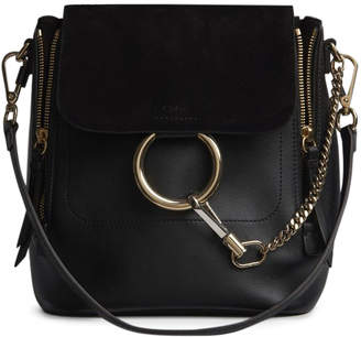 Chloé Faye Backpack Small Black