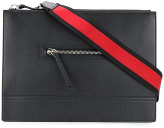 Givenchy streamlined messenger bag