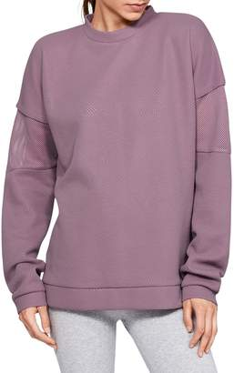 Under Armour Unstoppable Move Light Tunic Crew Neck Top