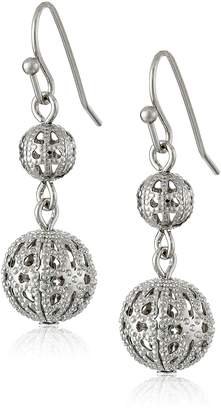 Michael Kors 1928 Jewelry Cirque Globe Earrings