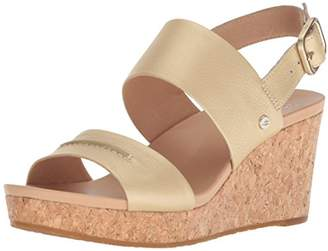 UGG Women's Elena Metallic II Wedge Sandal