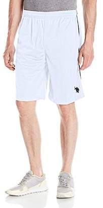 U.S. Polo Assn. Men's Mesh Shorts with Stripe Tape Trim