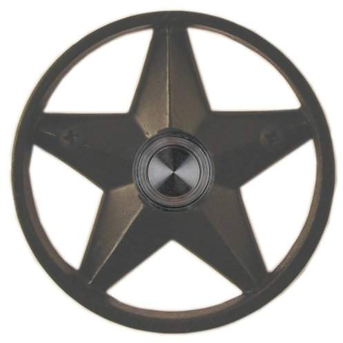 Waterwood Hardware Brass Lone Star 3.25
