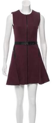 Robert Rodriguez Mini A-Line Dress
