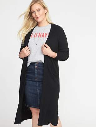 Old Navy Super-Long Open-Front Plus-Size Duster