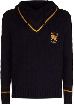 Polo Ralph Lauren Cable Knit Hoodie