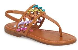Steve Madden JTWIZZLE Knotted T-Strap Sandal
