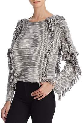 MISA Los Angeles Karine Fringe Sweater