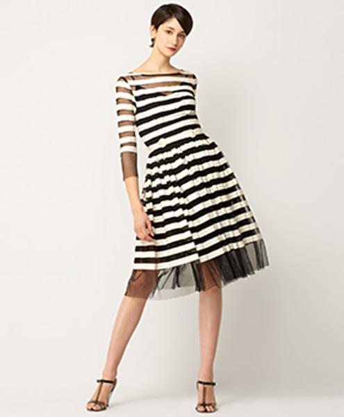 Tracy Reese Three-Quarter Sleeve Frock