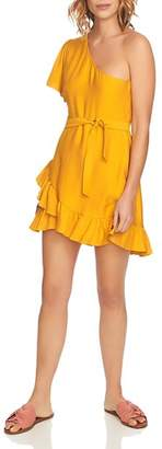 1 STATE 1.STATE One-Shoulder Ruffled Dress