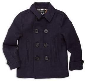 Burberry Little Boy's& Boy's Spencer Pea Coat