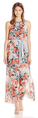 Adrianna Papell Women's Floral Maxi Dress