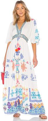 HEMANT AND NANDITA Prisma Long Dress