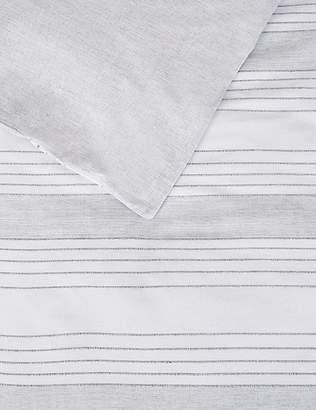 Marks and Spencer Irregular Textured Stripe Bedding Set