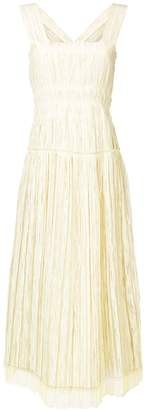 Bottega Veneta crepe midi dress