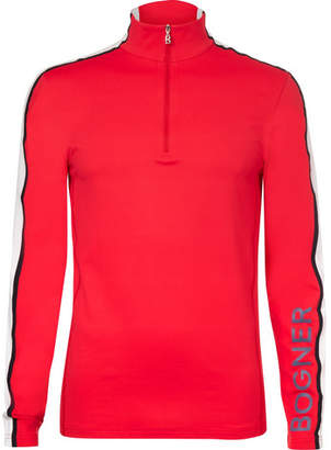 Bogner Dany Stretch-Jersey Half-Zip Base Layer