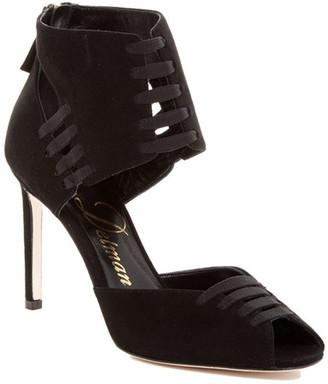 Delman Aaryn Sandal Heel $478 thestylecure.com