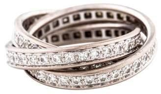 Cartier 1.55ctw Diamond Trinity Ring white 1.55ctw Diamond Trinity Ring
