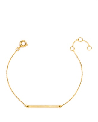 Slim Bar Bracelet $32 thestylecure.com
