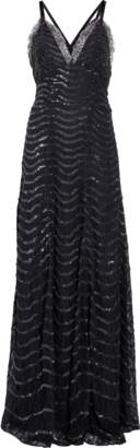 Temperley London Panther Lace Long Dress