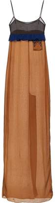 Prada empire line long dress