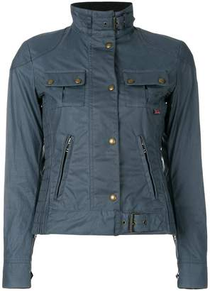 Belstaff fitted buckled jacket