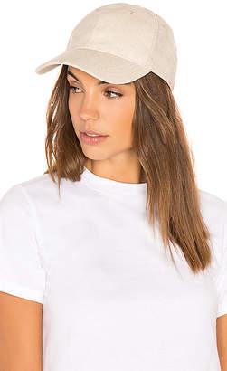 Hat Attack Linen Baseball Cap