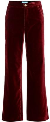 MiH Jeans Paradise velvet pants