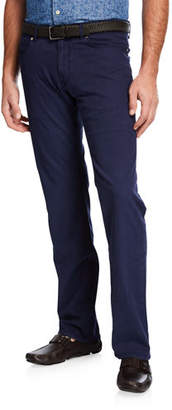 Peter Millar Men's Wayfare Knit Five-Pocket Pants