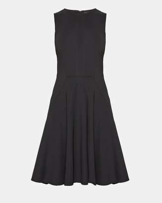 Theory Stretch Nylon Mod Panel Dress