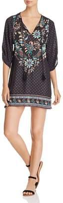 Tolani Embroidered Tunic Dress